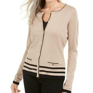 Karen Scott XXL Chestnut Sweater 9BI33